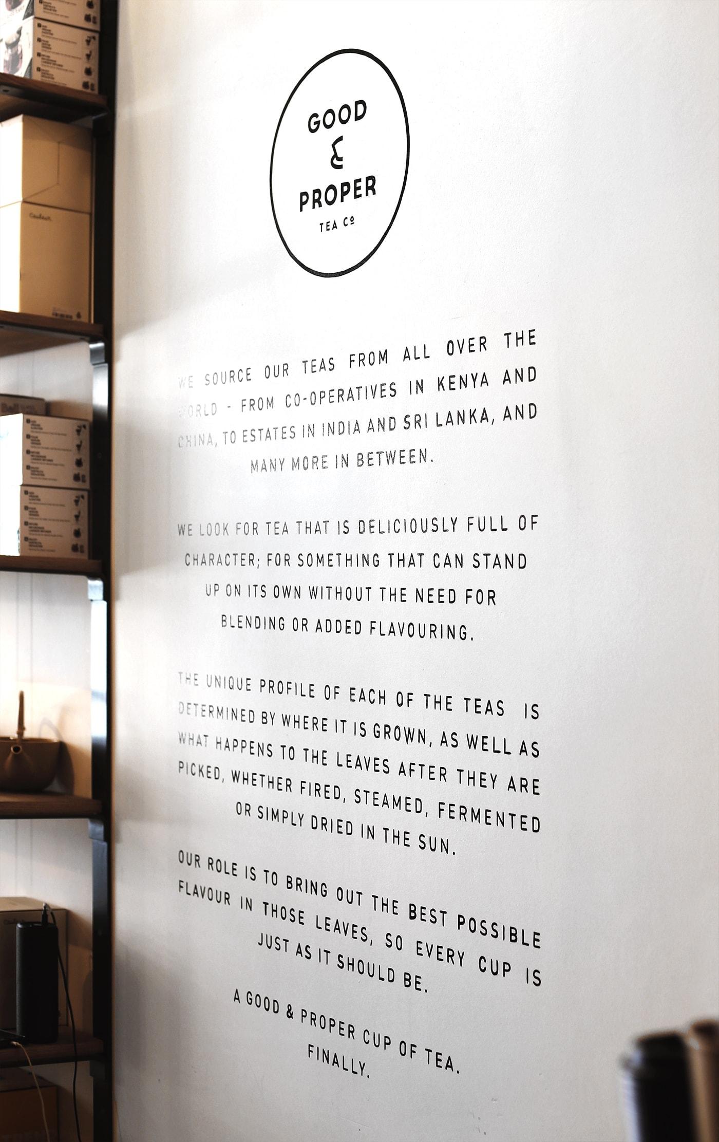 Birthday fun day | Good & Proper Tea philosophy