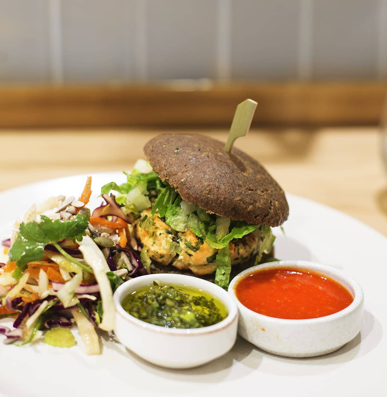 Birthday fun day | Hemsley Selfridges | salmon burger | paleo