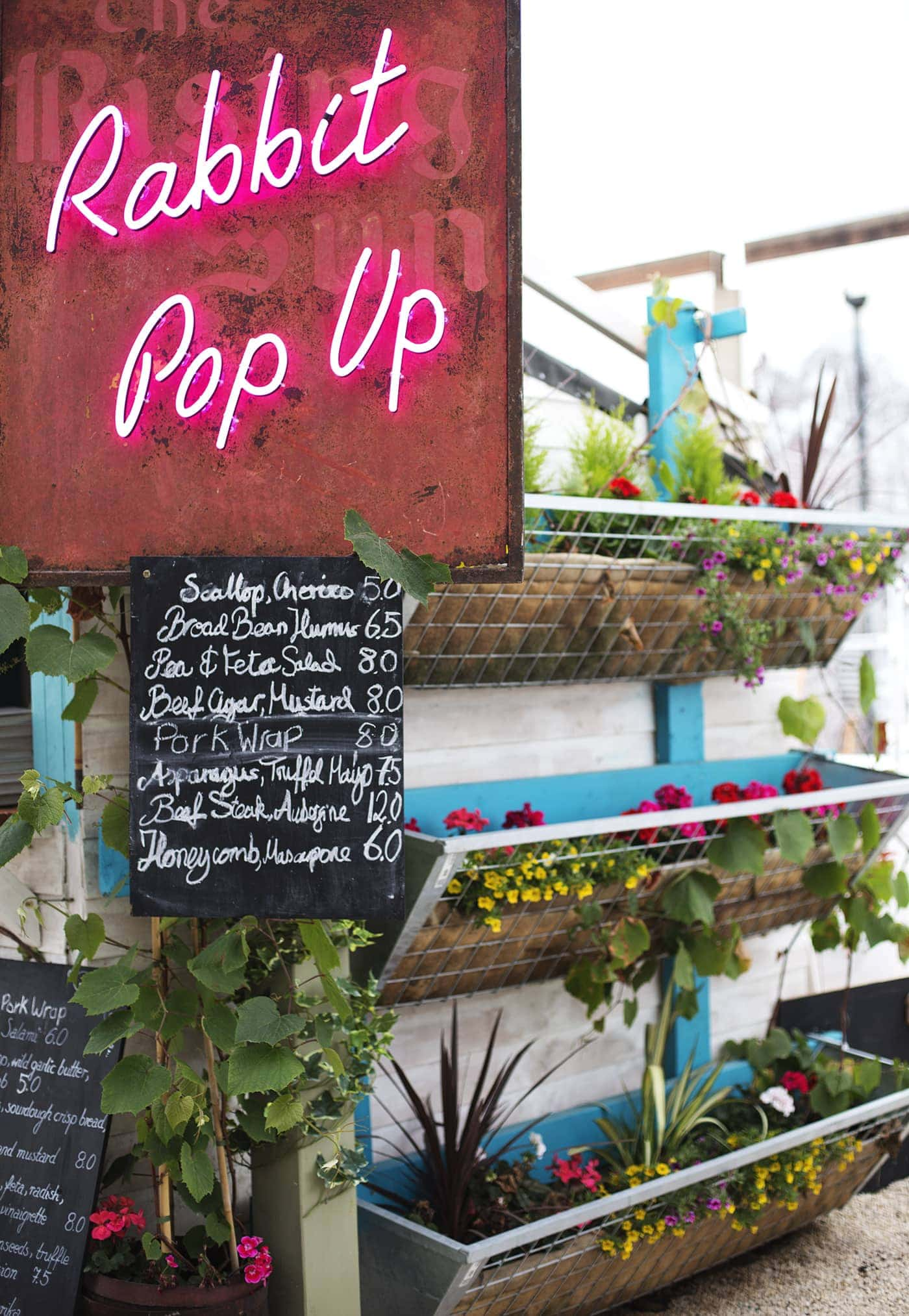 Birthday fun day | Pergola on the roof | Rabbit pop up