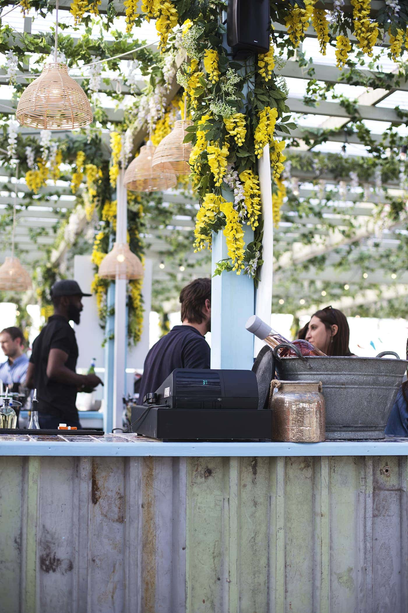 Birthday fun day | Pergola on the roof | london bars