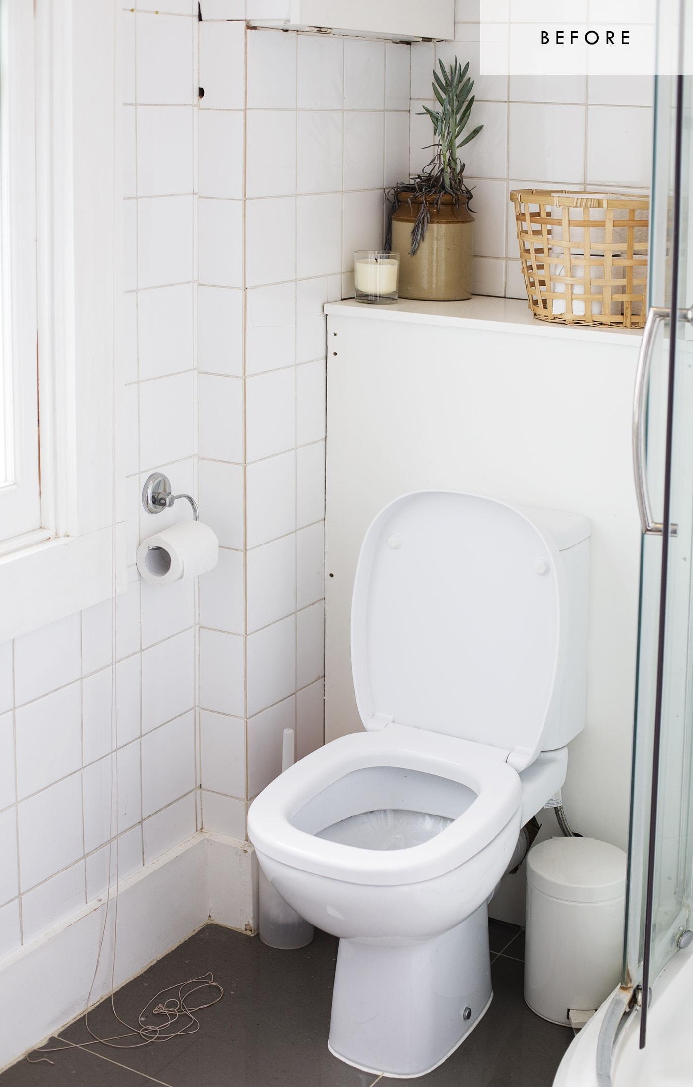 Bathroom refresh with Habitat   before 1