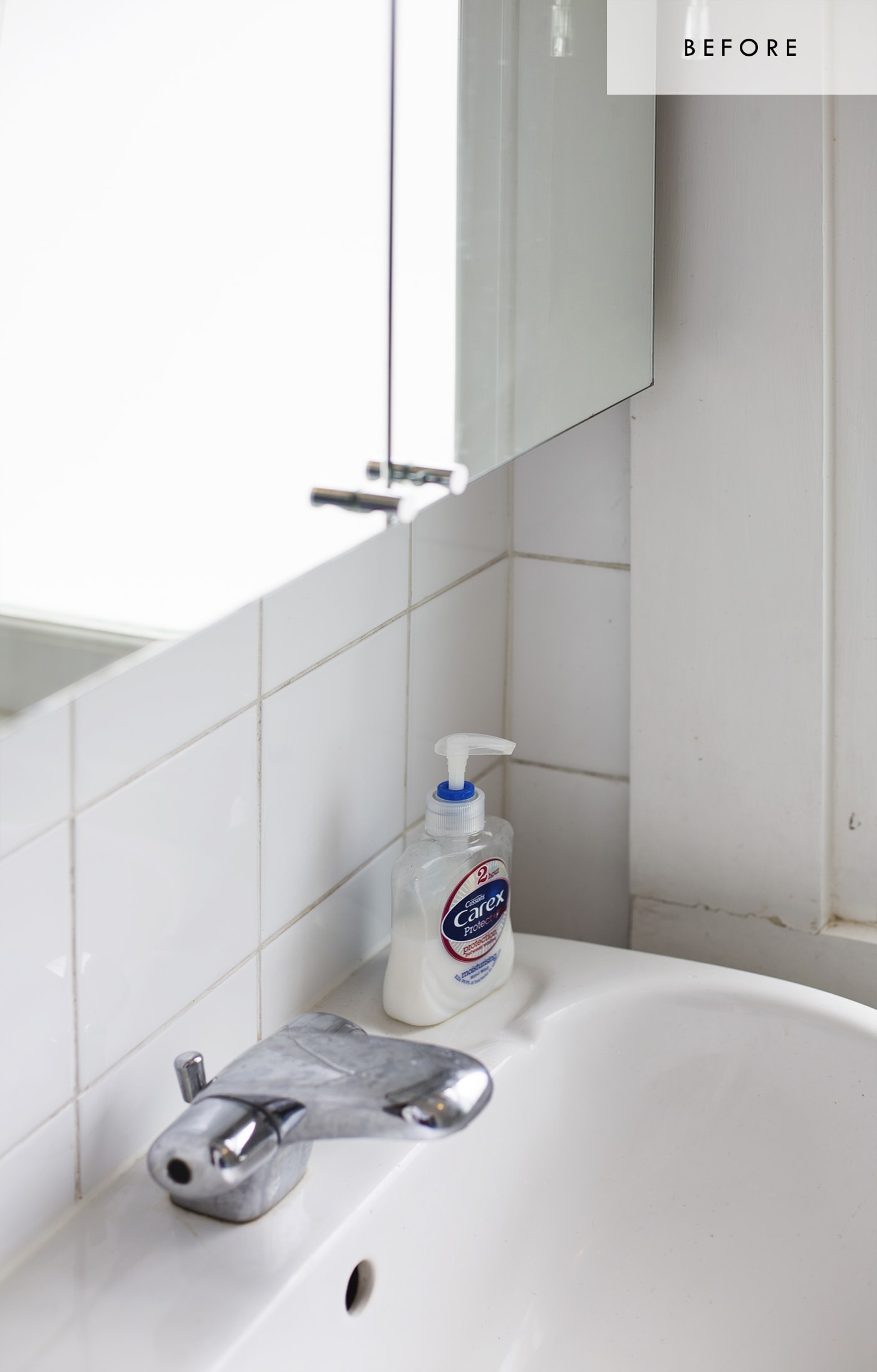 Bathroom refresh with Habitat | before 3