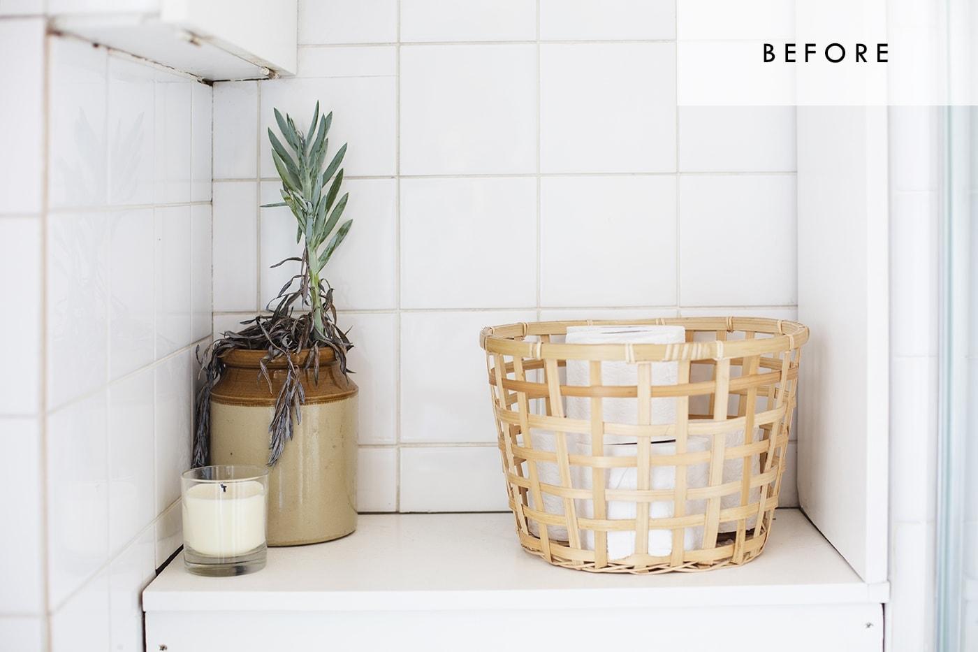Bathroom refresh with Habitat | before 4