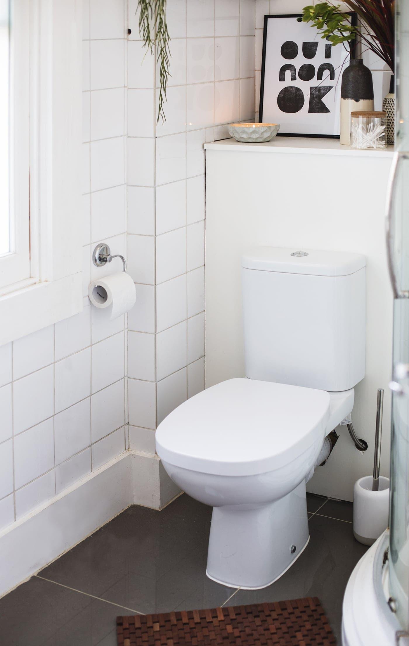 Bathroom refresh with habitat 10