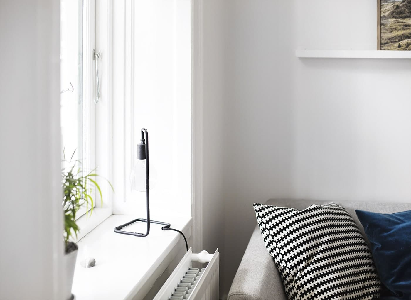 Copenhagen | wanderlust | air bnb living room 2