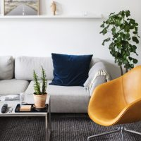 Copenhagen | wanderlust | air bnb living room 3
