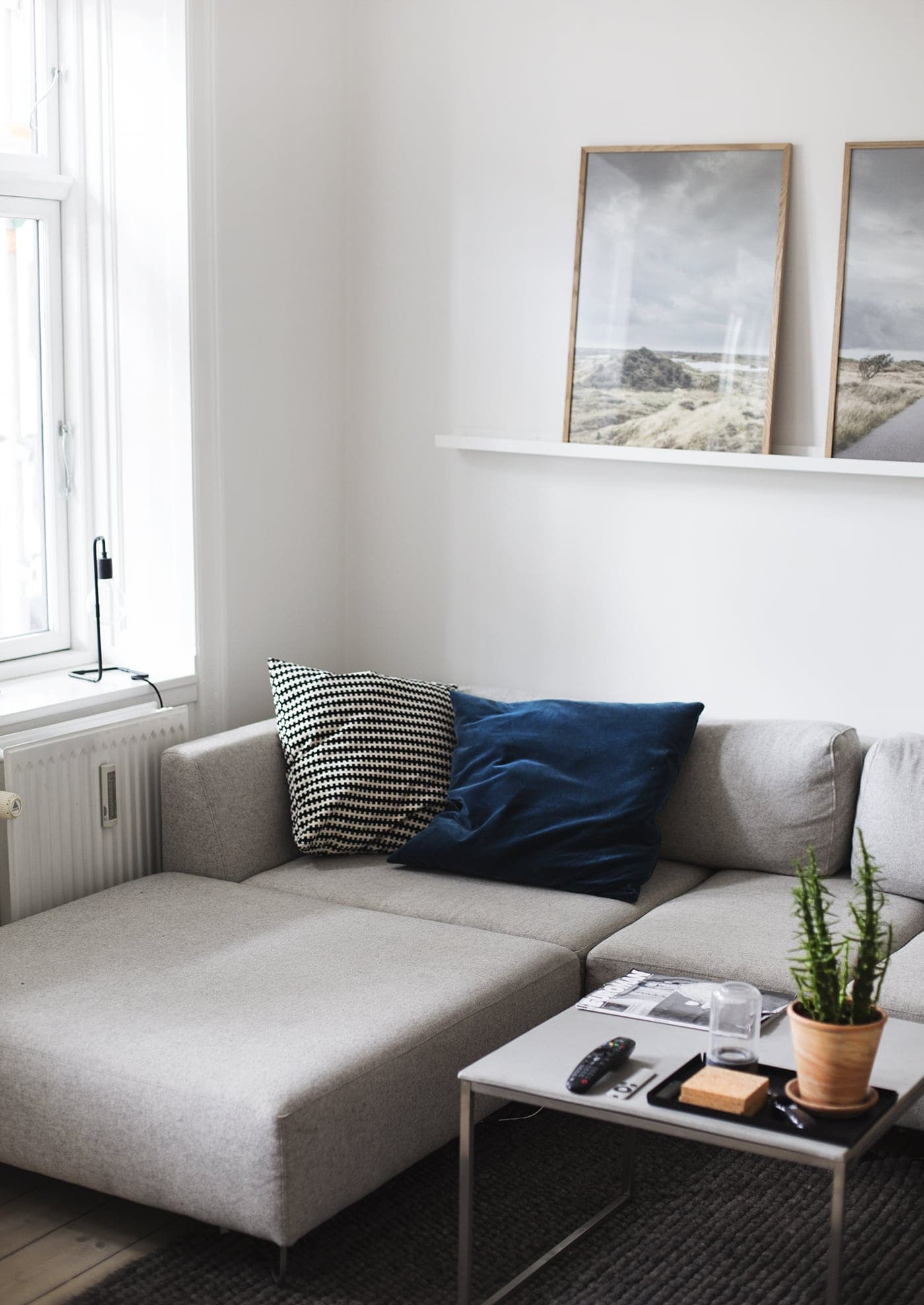 Copenhagen | wanderlust | air bnb living room 4