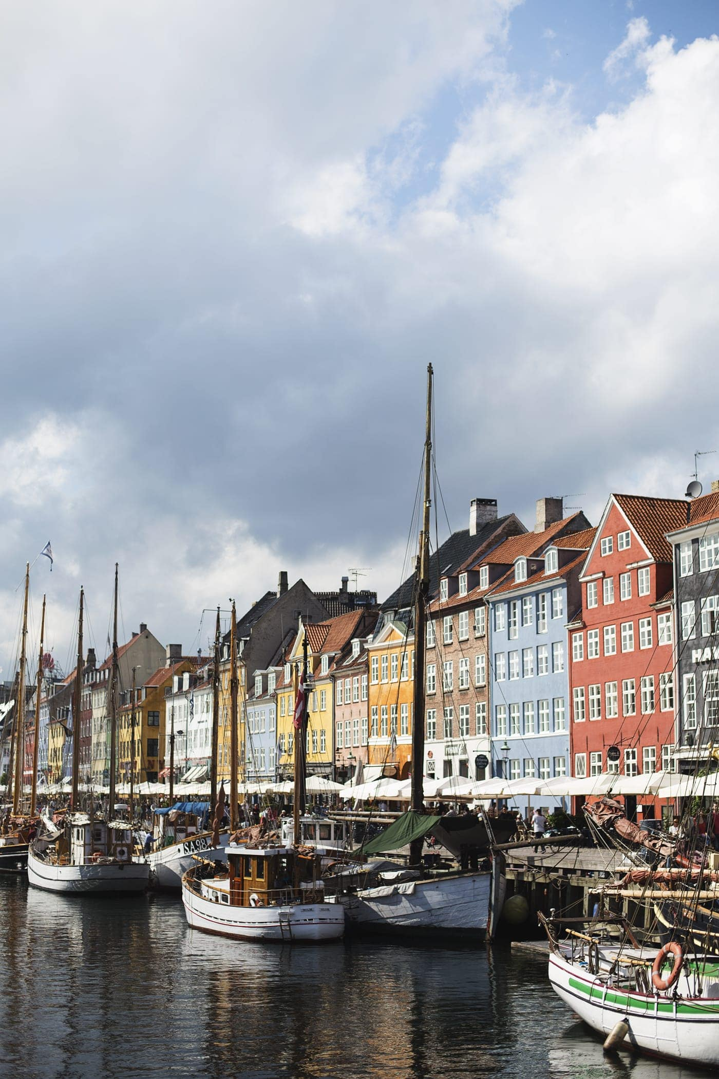 Copenhagen | wanderlust | coloured buildings at the waterfont
