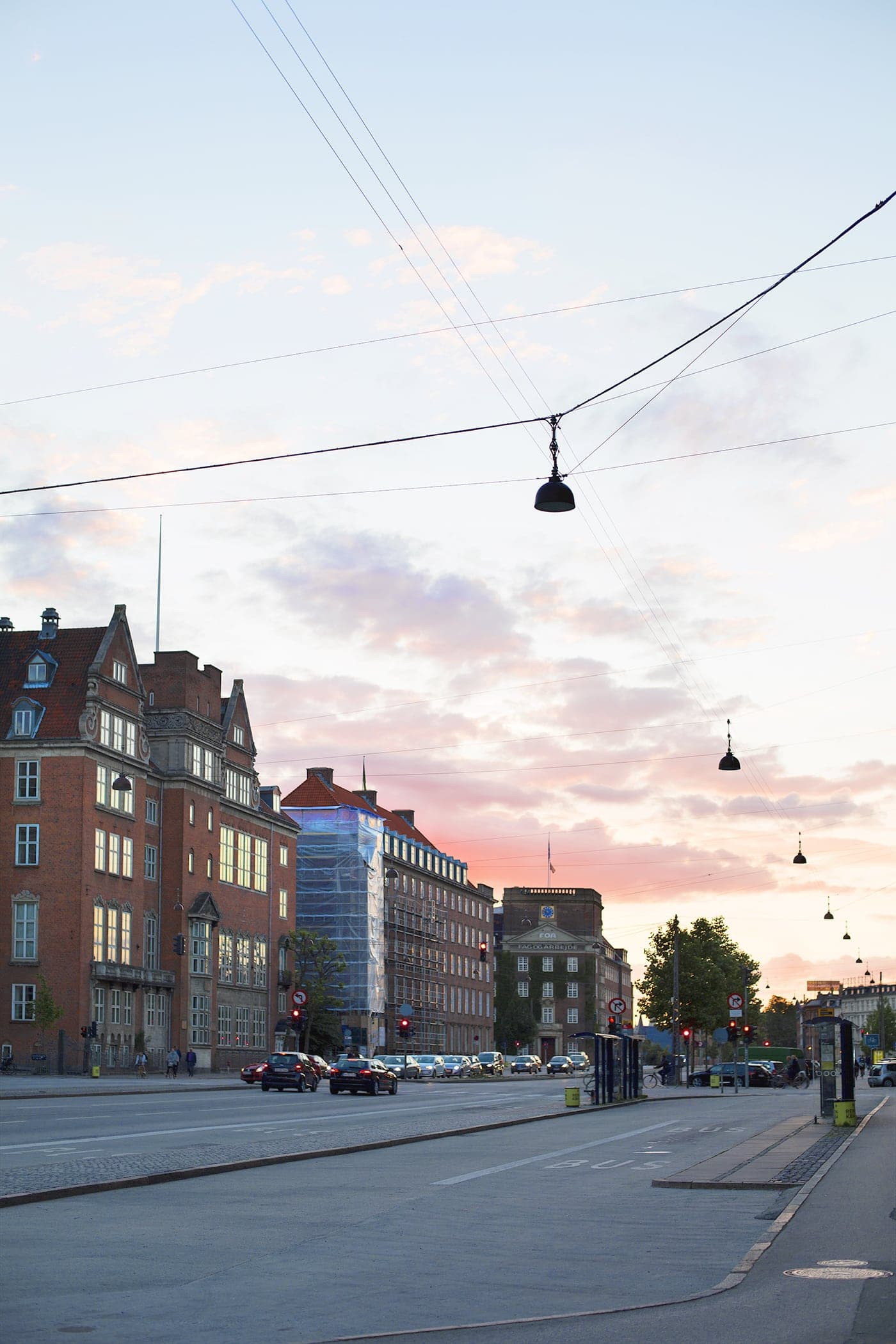 Copenhagen | wanderlust | sunset in the city