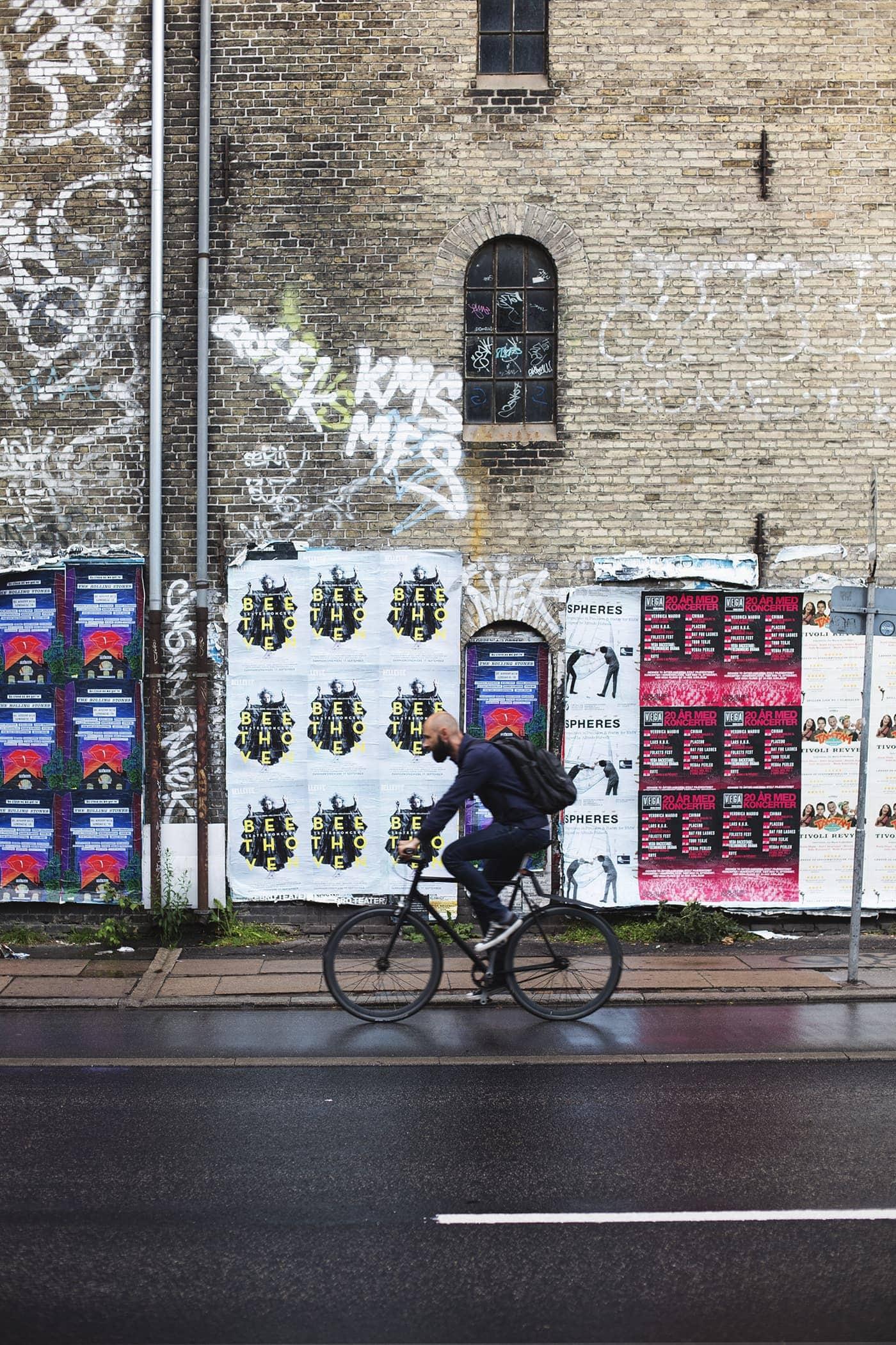 Copenhagen | wanderlust | urban street art | cycling