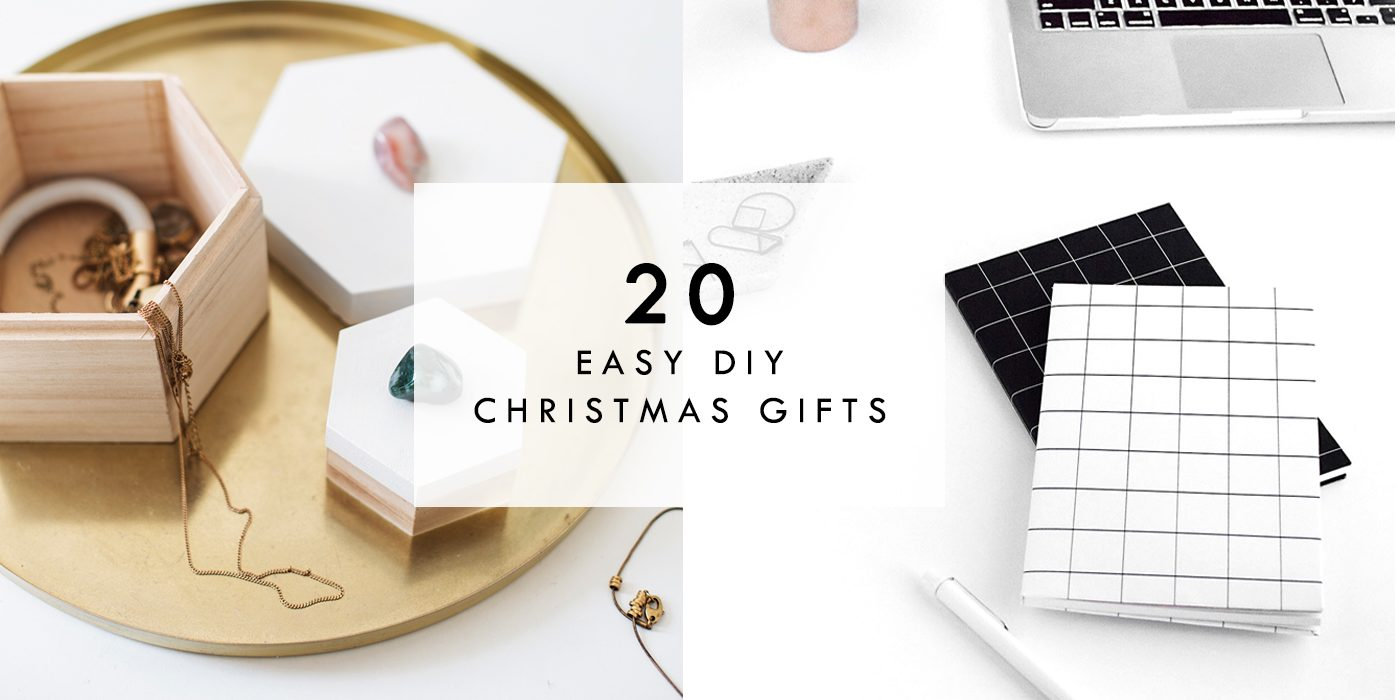 Easy Peasy Homemade Christmas Gifts | The Lovely Drawer