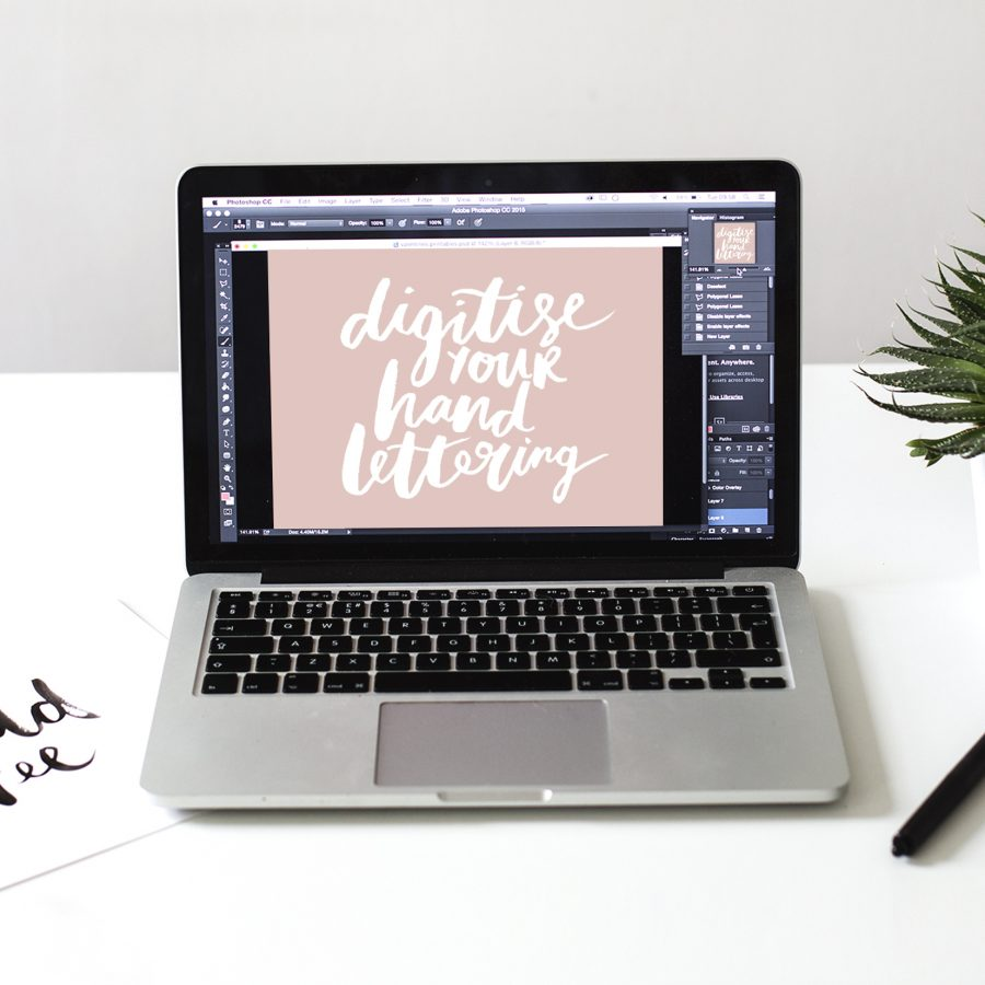 digitise your hand lettering