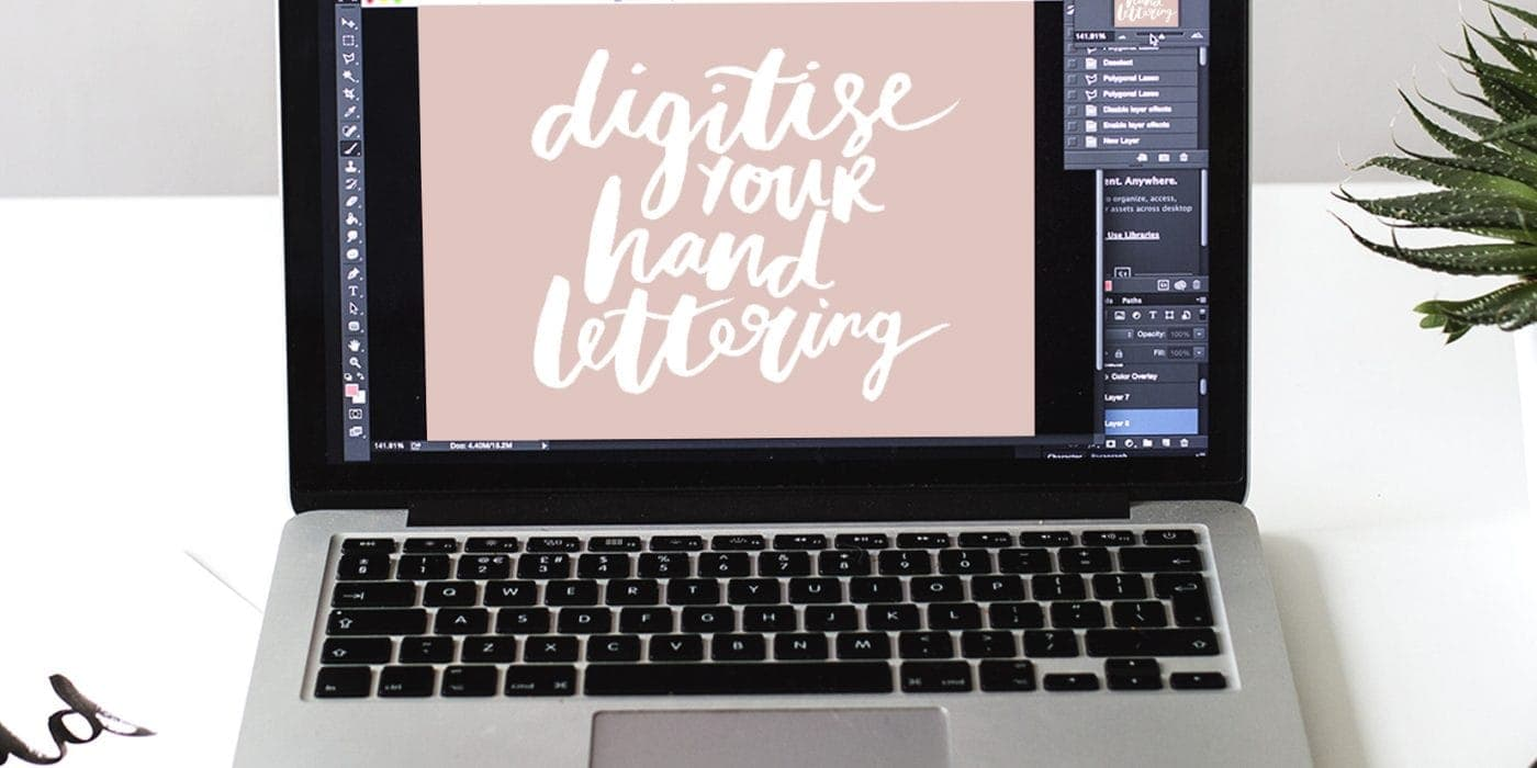 digitise your hand lettering workshop