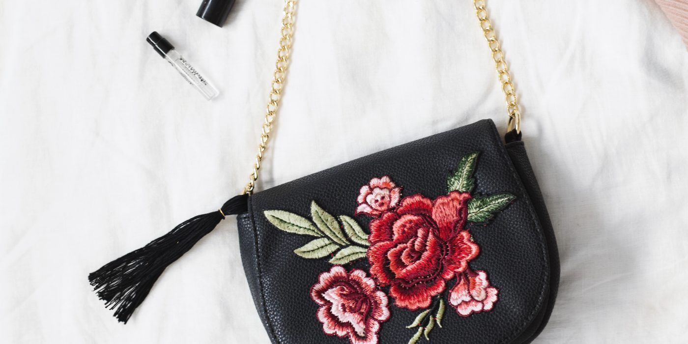 embroidered tassel bag idea | craft tutorial