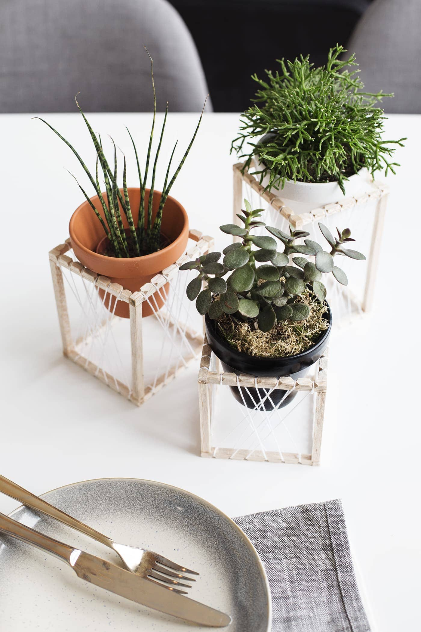 They Work Well On Shelves Or Even As Centre Pieces And Add A Slightly  'boho' Vibe With These Dream Catcher Style Thread Patterns