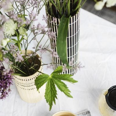 DIY Decorative Vases with Shurgard