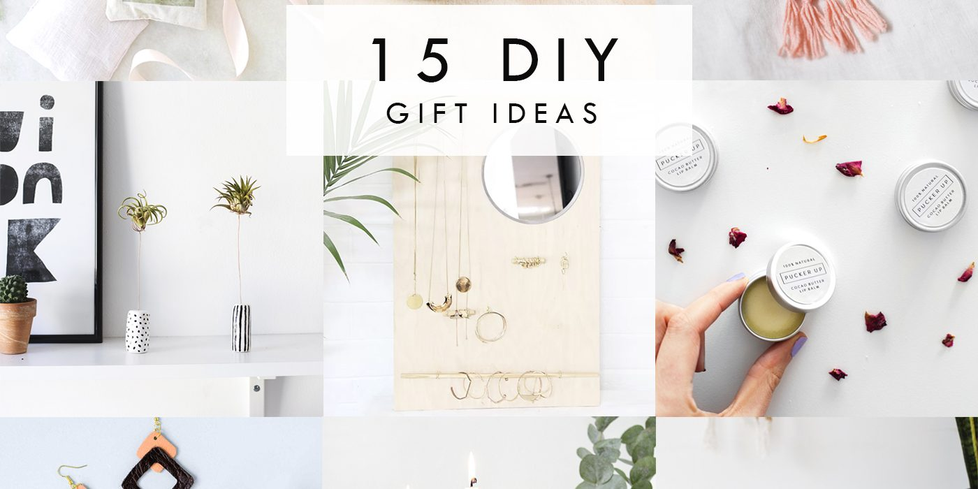 15 DIY gift ideas for Christmas
