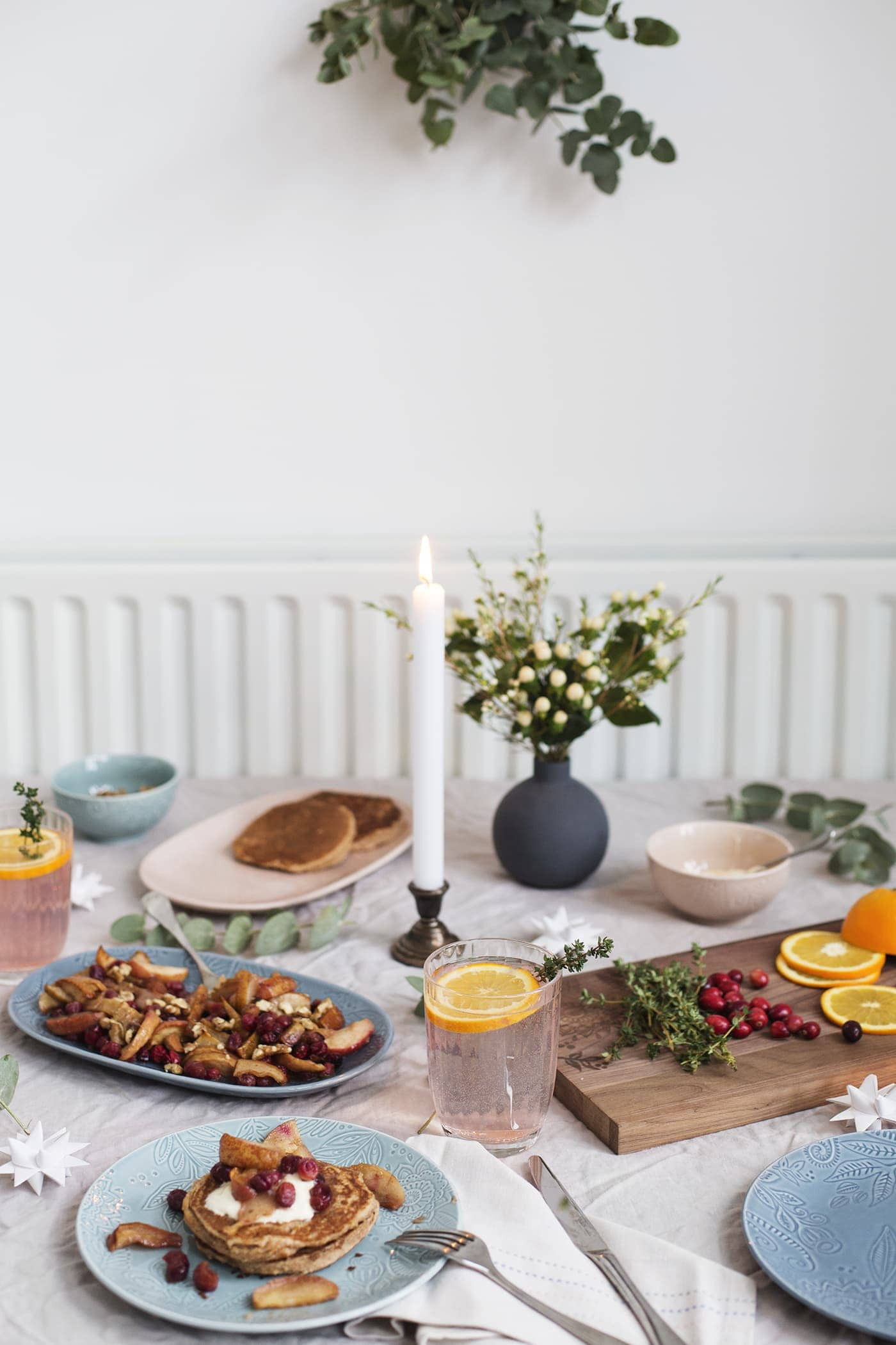 A Festive Brunch with Denby Pottery | The Lovely Drawer