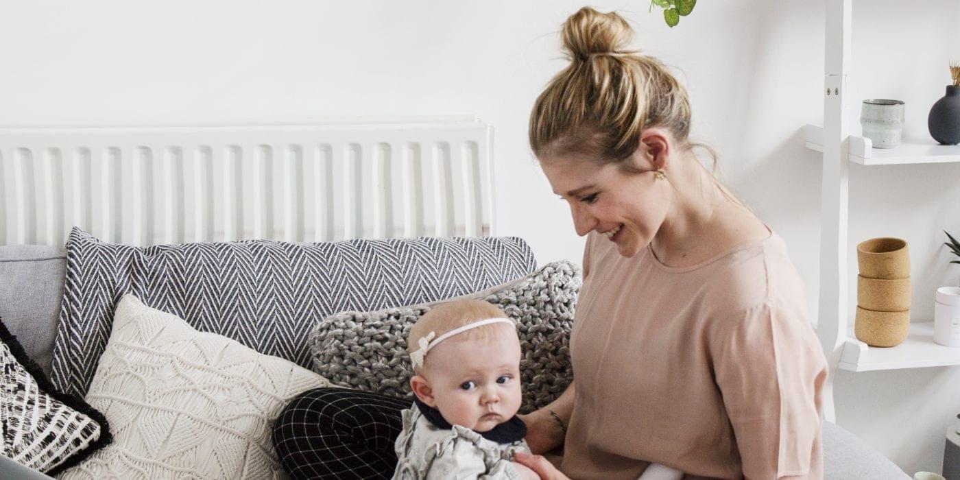 running a business with a newborn 1