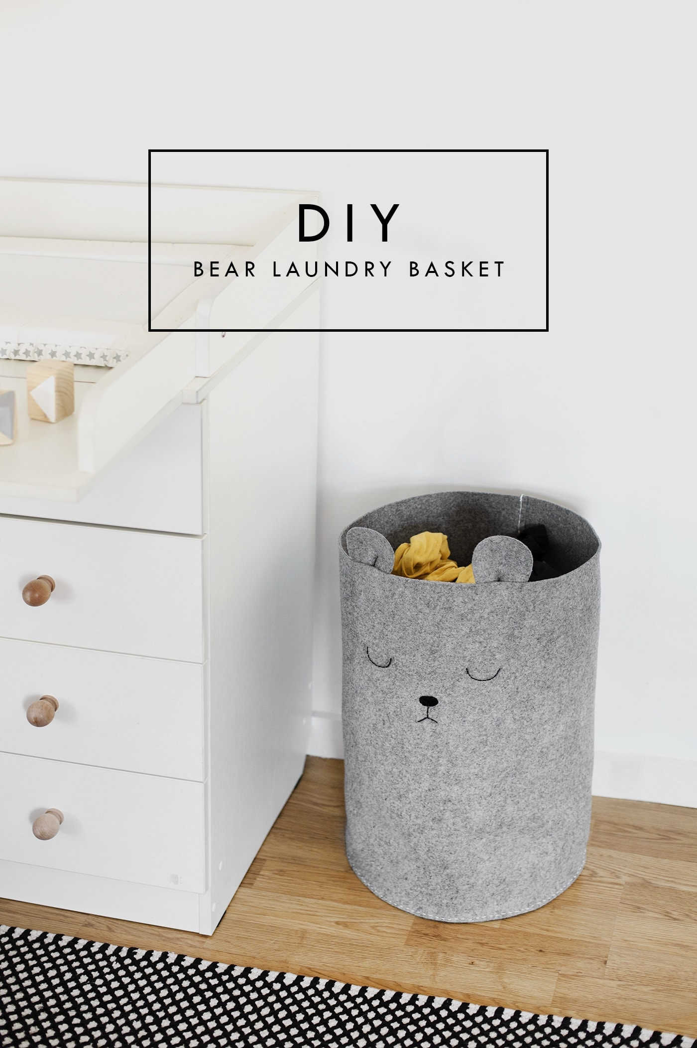 Pretty, Dirty Laundry: A Nursery DIY