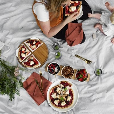 Brunch-time Picnic Pizza Perfection with Villeroy & Boch