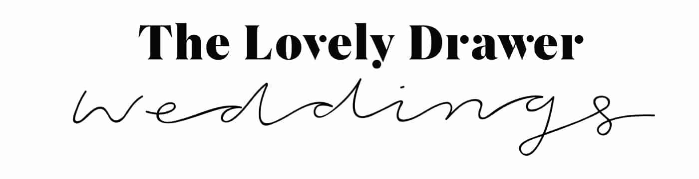 the lovely drawer weddings logo