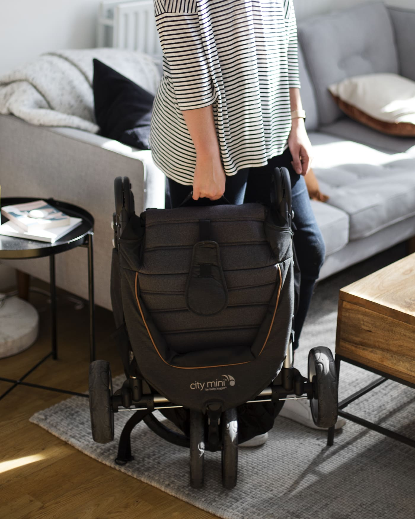 city select baby jogger how to take brakes off