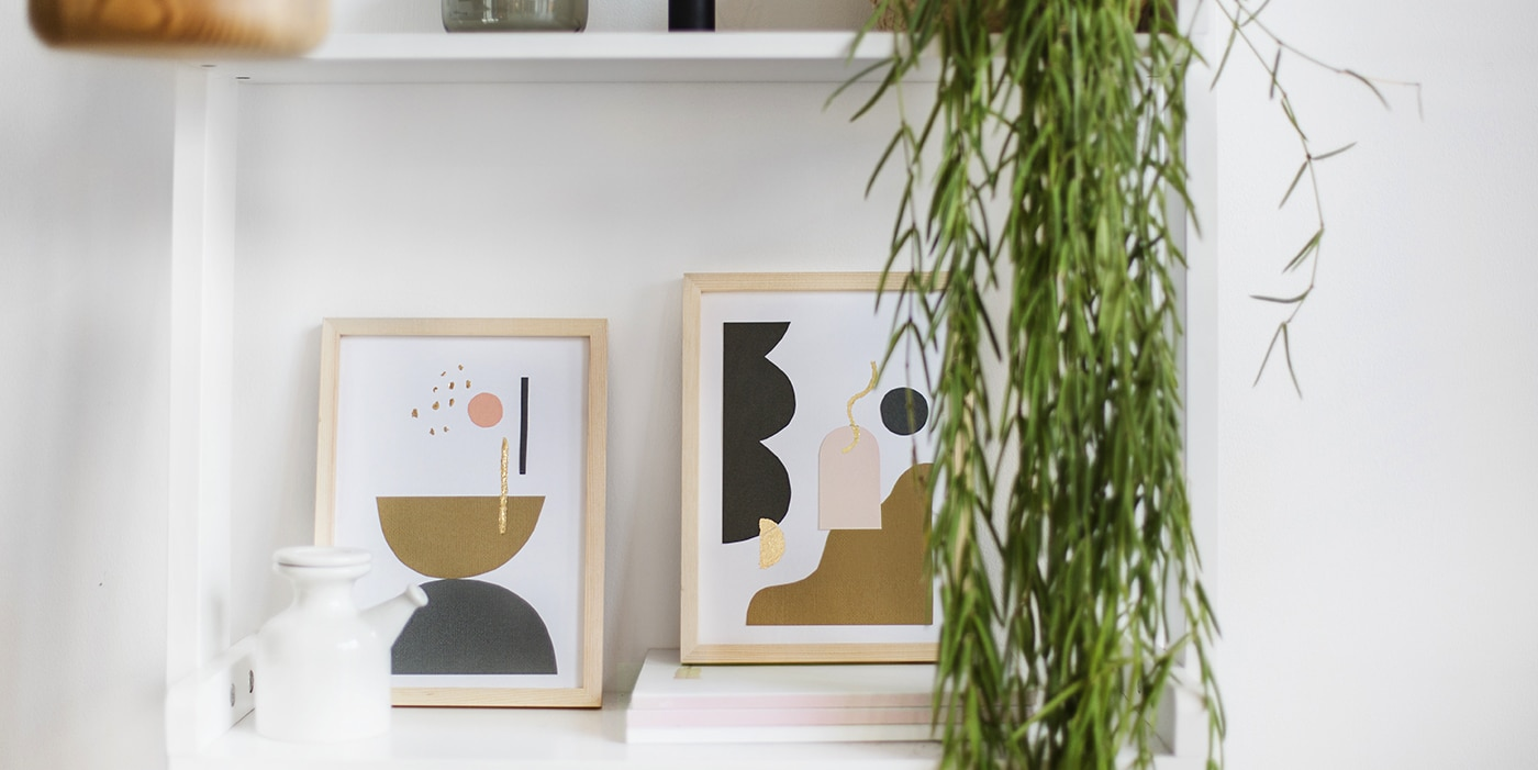 Diy Abstract Wall Art With Creative Rox The Lovely Drawer