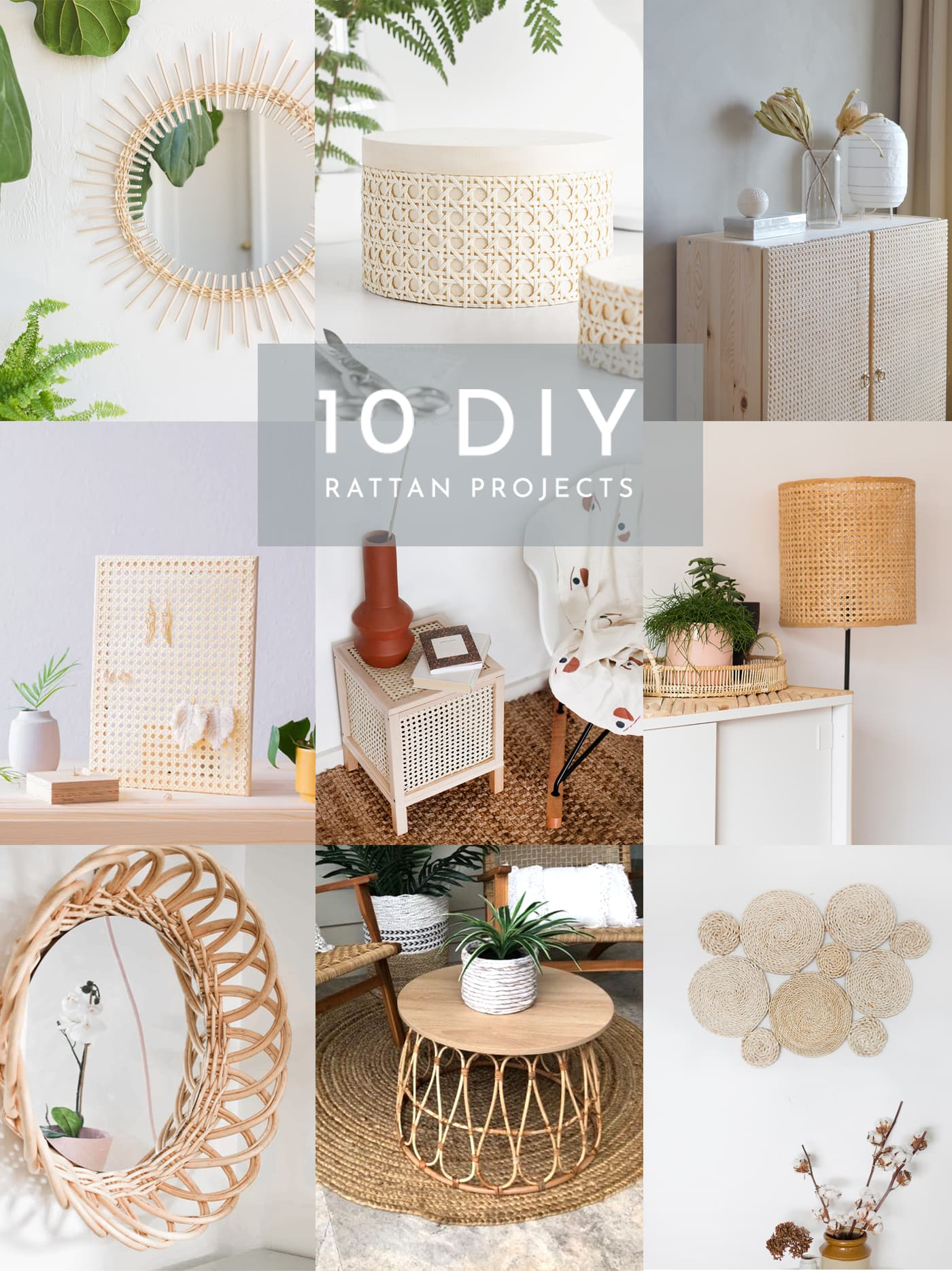 10 DIY Rattan Projects To Try