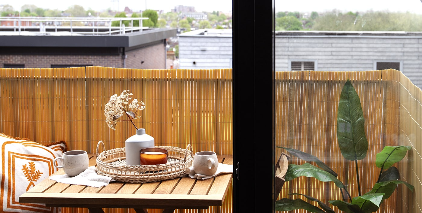 balcony make over with Habitat | wellness & mental health in the home feature