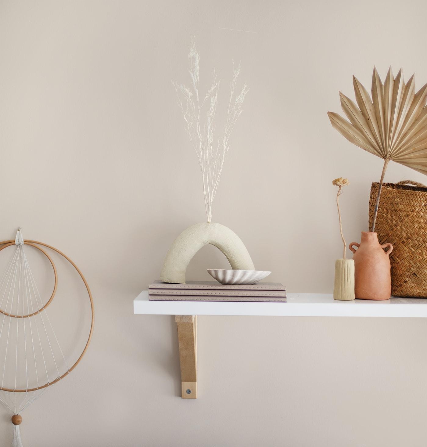 DIY Quirky Clay Vases