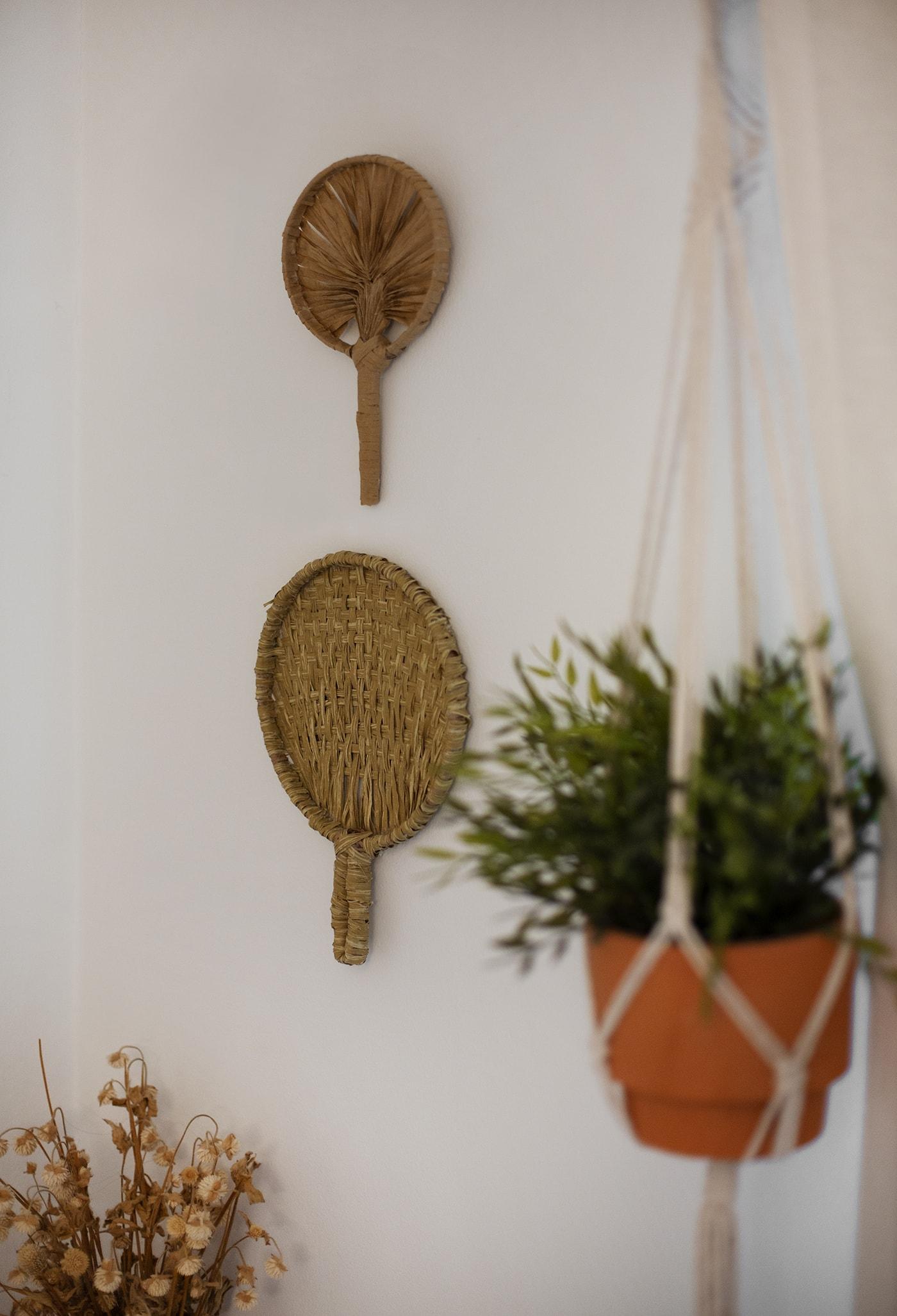 DIY Palm Fans